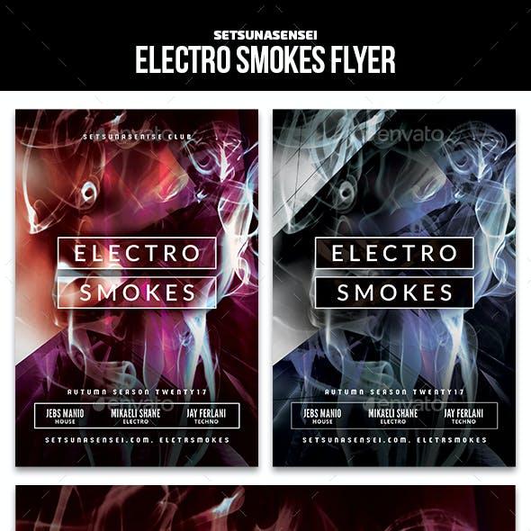 Electro Smokes Flyer