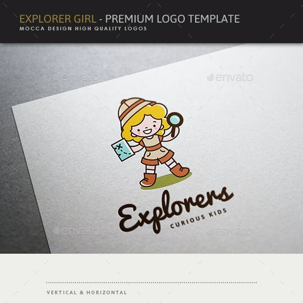 Explorers - Explorer Girl Logo