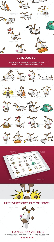Dog Set - Animals Characters