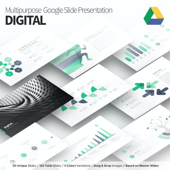 Digital - Multipurpose Google Slide Presentation