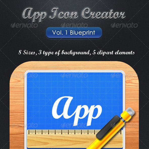 App Icon Creator Vol.1 Blueprint