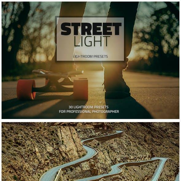 30 Street Light Lightroom Presets