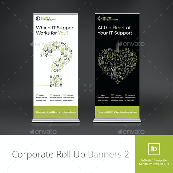 Corporate Roll Up Banners 2
