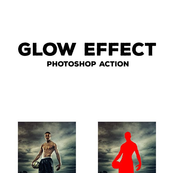 Glow Effect - Photoshop Action