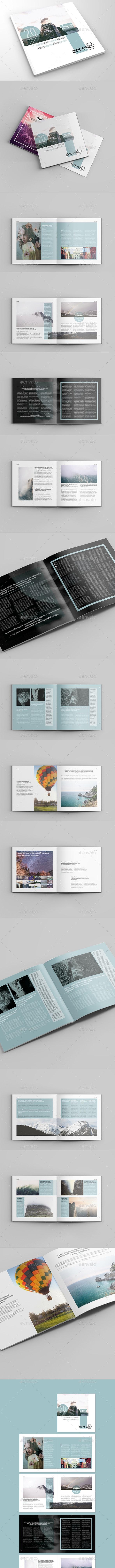 Photo Media Square Catalog&Brochure - Brochures Print Templates