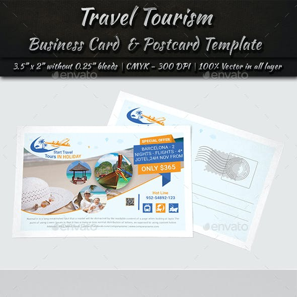 Business Card & Postcard Template