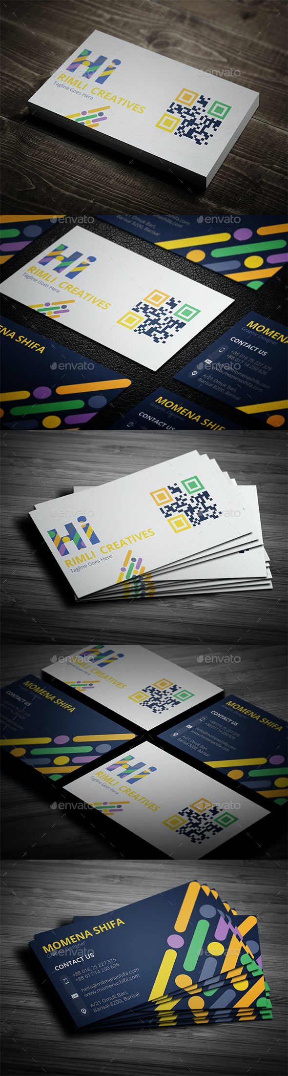 Elegant Business Card Design - Creative Business Cards