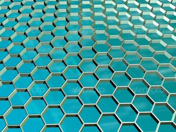 Honeycombe Lattice - 3D Backgrounds