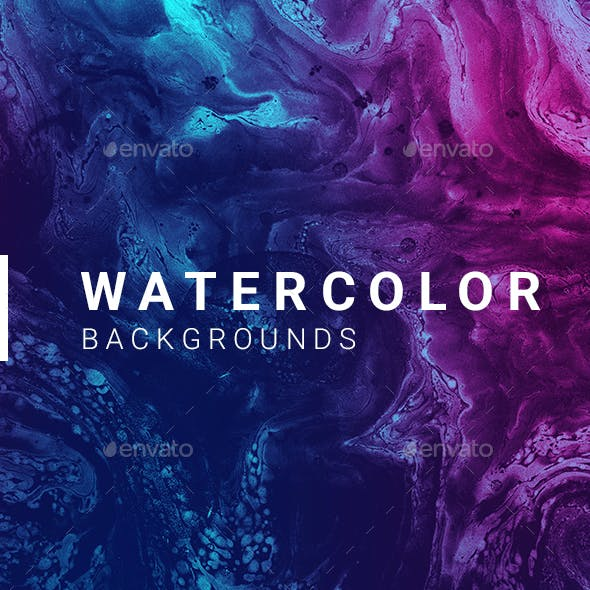 100 Abstract Watercolor Backgrounds