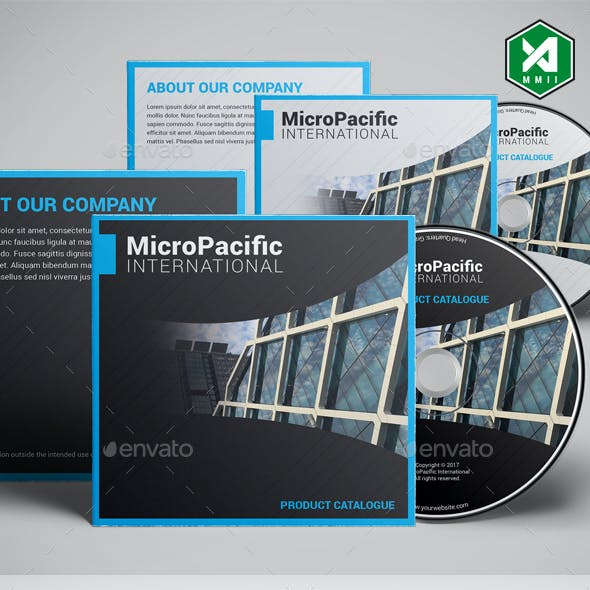Corporate CD / DVD Template Vol. 1