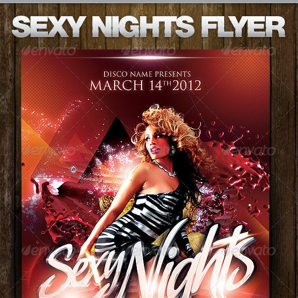 Sexy Nights Flyer