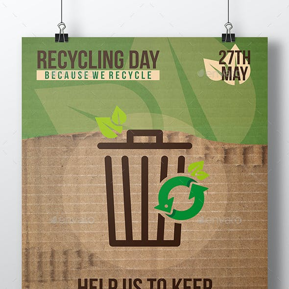 Recycling Event Flyer Template