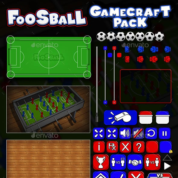 Foosball - Game Assets