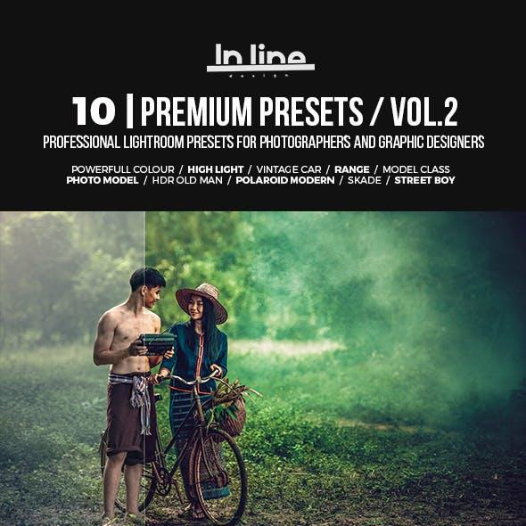 10 Premium Lightroom Presets / Vol.2