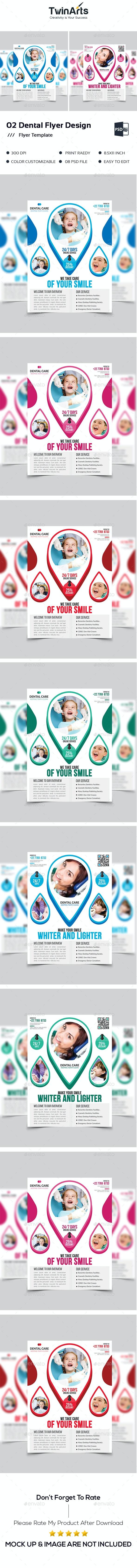 Dental Flyer Design. - Flyers Print Templates