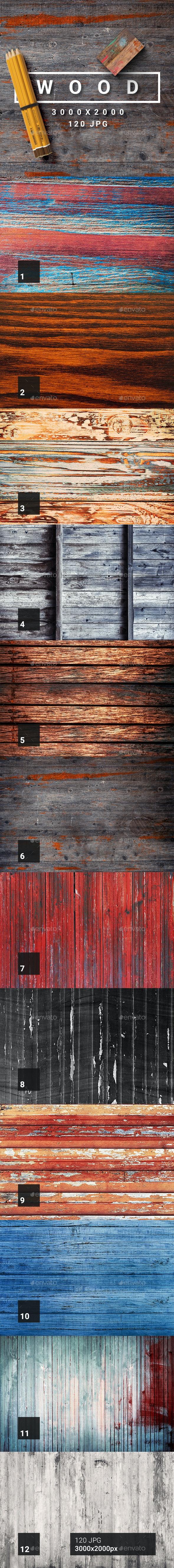 120 Wood Textures - Wood Textures