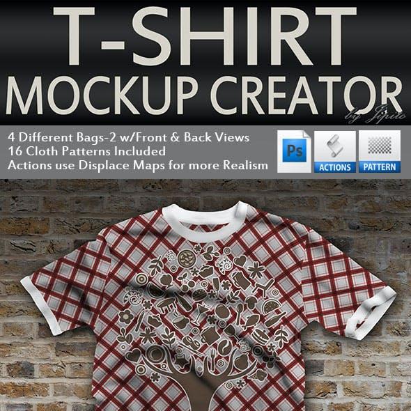 TShirt Mock Up Creator