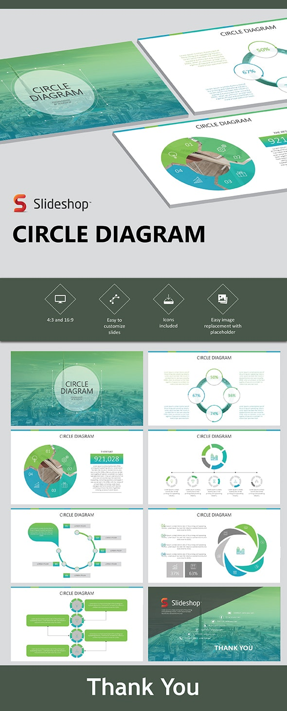 Circle Diagram - PowerPoint Templates Presentation Templates