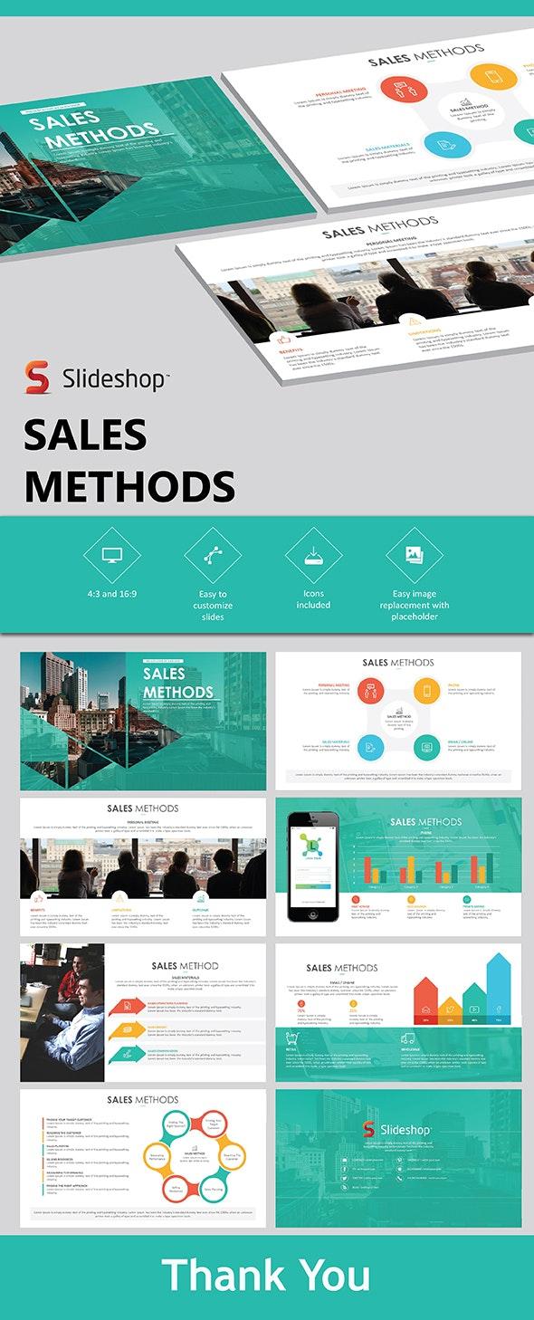 Sales Methods - PowerPoint Templates Presentation Templates
