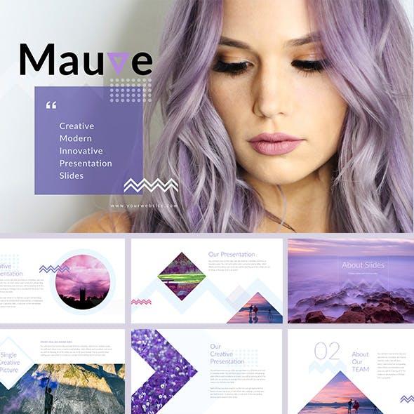 Mauve - PowerPoint Presentation Template