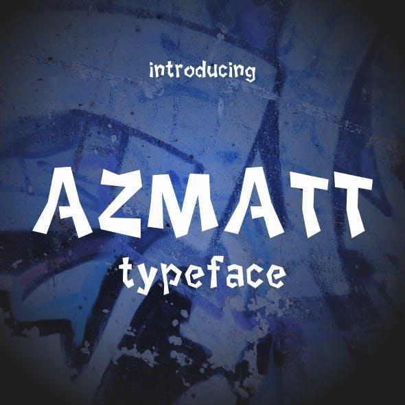 AZMATT Typeface