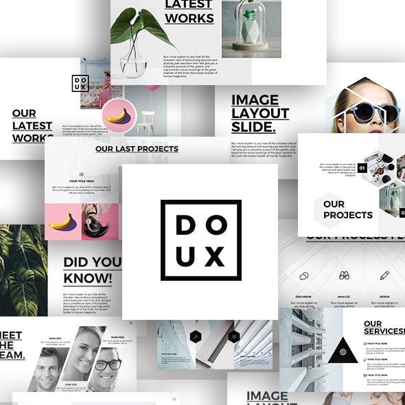 Doux Minimal PowerPoint Presentation