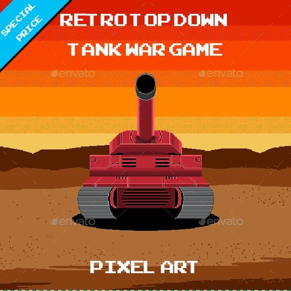 Retro Top Down Tank
