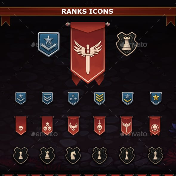Ranks Icons