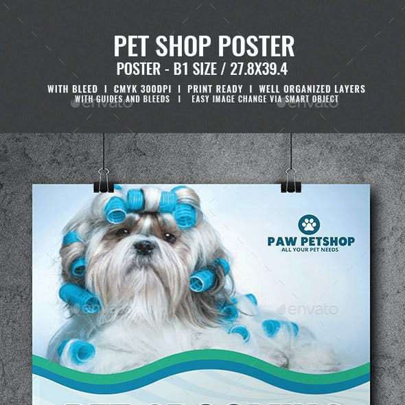Pet Grooming Services Poster