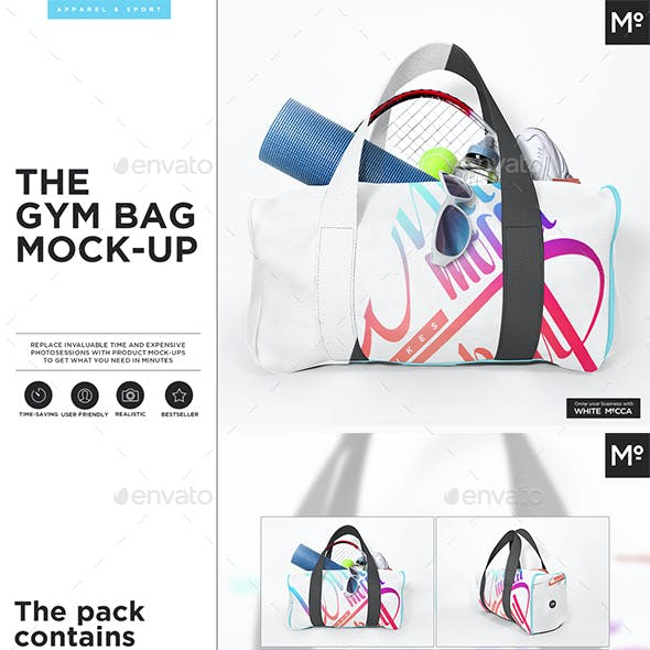 The Gym Bag Mock-up