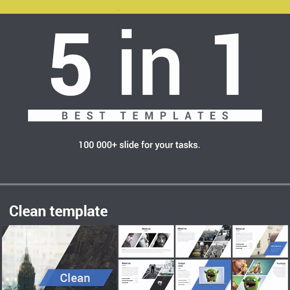 5 in 1 Bundle Powerpoint Pack 2