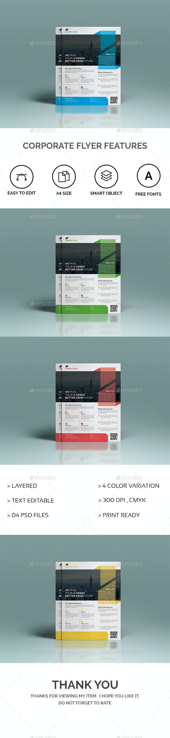 Corporate Flyer Features - Corporate Flyers