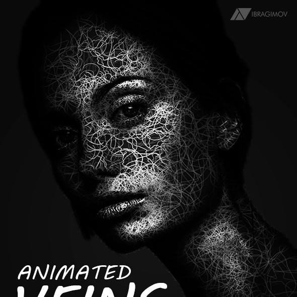 Animated Veins Photoshop Action