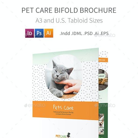 Pet Care Bifold / Halffold Brochure 6