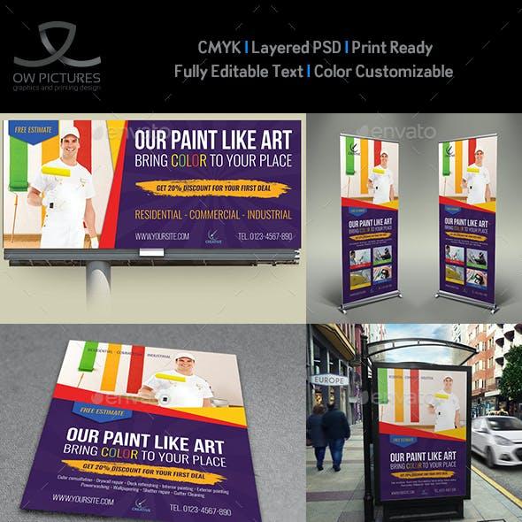 Painter Advertising Bundle