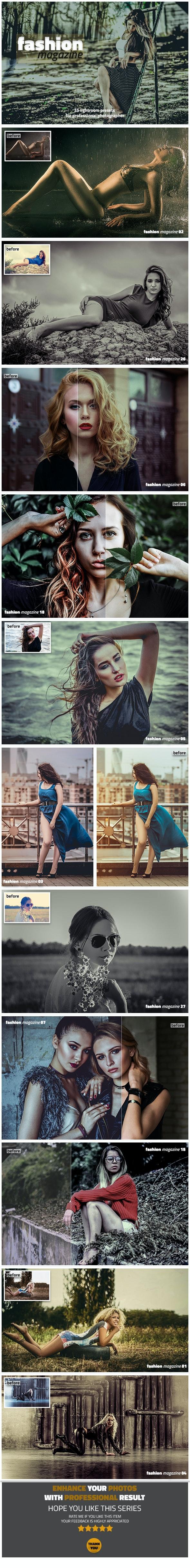 Fashion Magazine Lightroom Presets - Lightroom Presets Add-ons