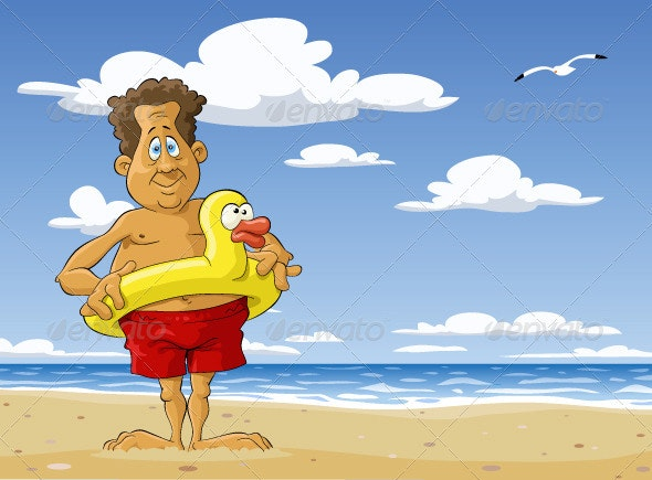 Sunny Beach - People Characters