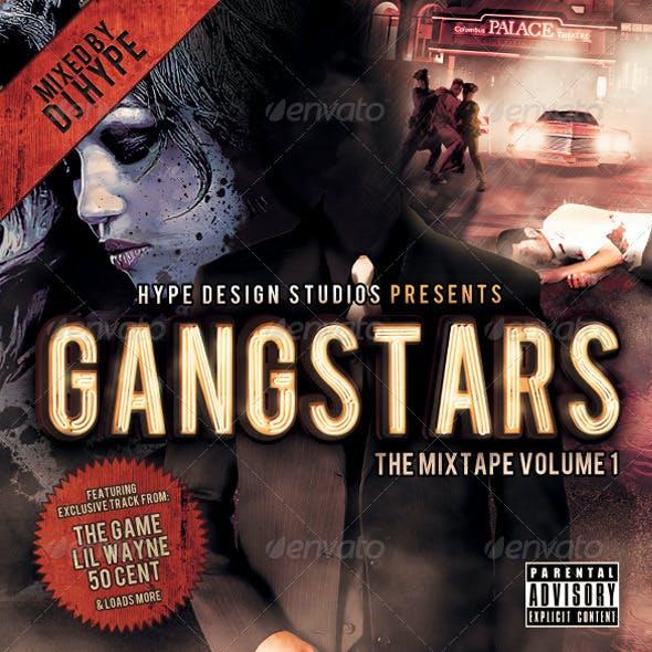 Gangstars Mixtape or Flyer Template