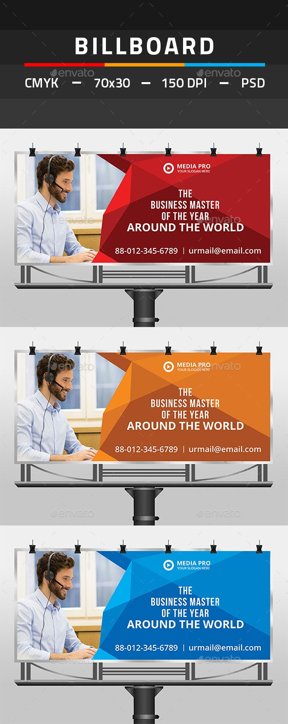 Billboard - Signage Print Templates