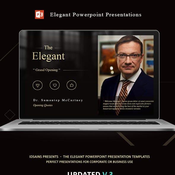 The ELEGANT - Powerpoint Presentations