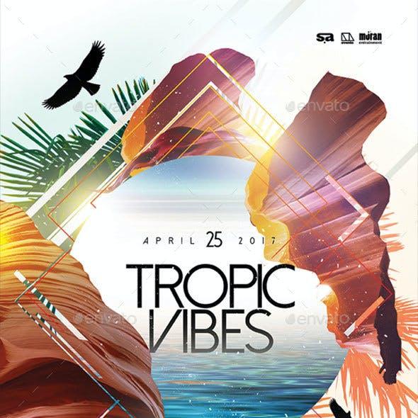 Tropic Vibes Flyer