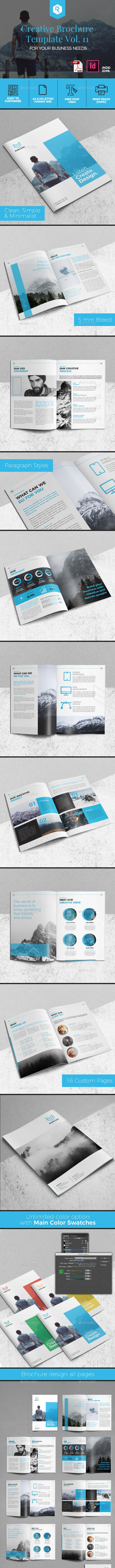 Creative Brochure Template Vol. 11 - Corporate Brochures