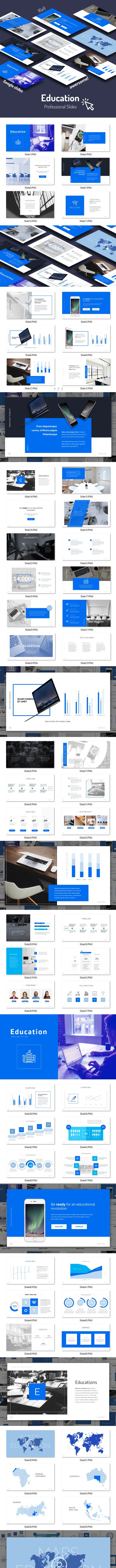Educations - Google Slides - Google Slides Presentation Templates
