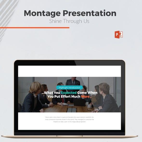 Montage - Multipurpose Presentation Template