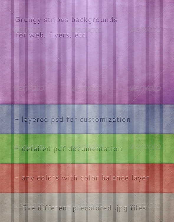 Grungy Stripes Background - Backgrounds Graphics