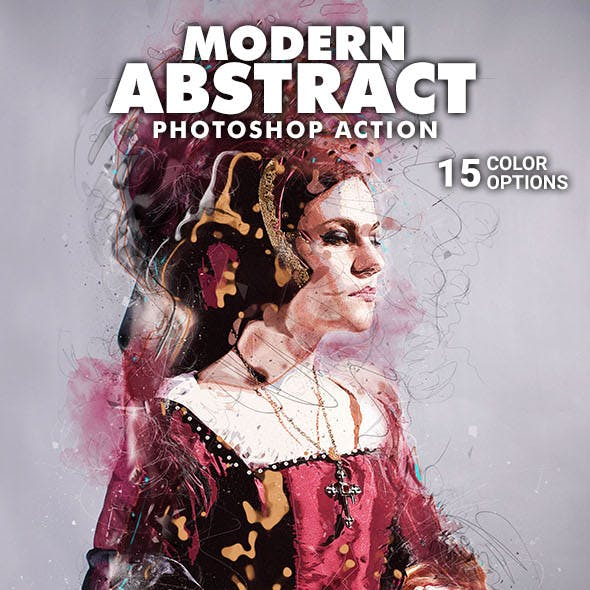 Modern Abstract Photoshop Action