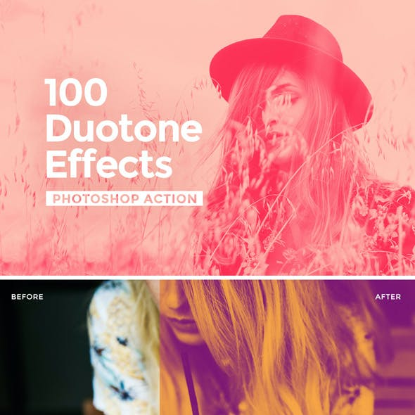 Duotone Photoshop Action