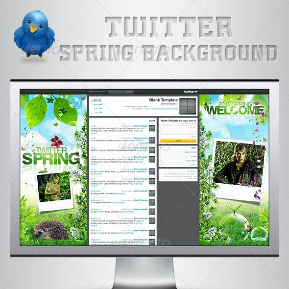 Twitter Background | Spring
