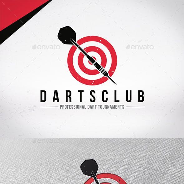 Darts Club Logo Template