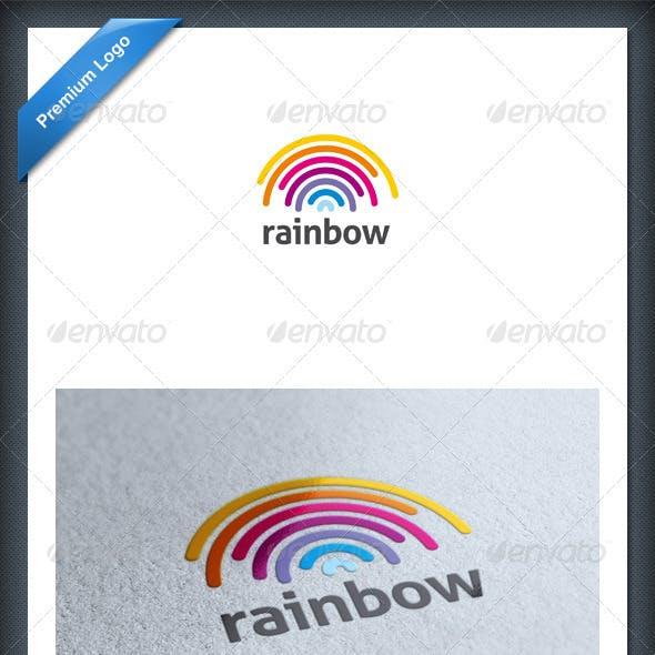 Rainbow Logo Template